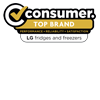 LG Consumer Top Brand Fridge Freezer Sep 17