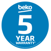 Beko 5 Year Warranty Jan 18