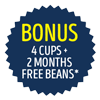 Breville Coffee Beans and Cups Apr-May 19