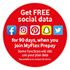 Vodafone Free Social Data May 20