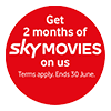Vodafone Sky Movies 2 Months May 20