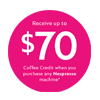 Nespresso Coffee Credit 70 Mar-June 20