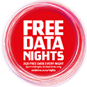 Vodafone Free Data Nights Nov 20 - Feb 21