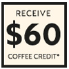 Nespresso Coffee Credit 60 Mar-May 21