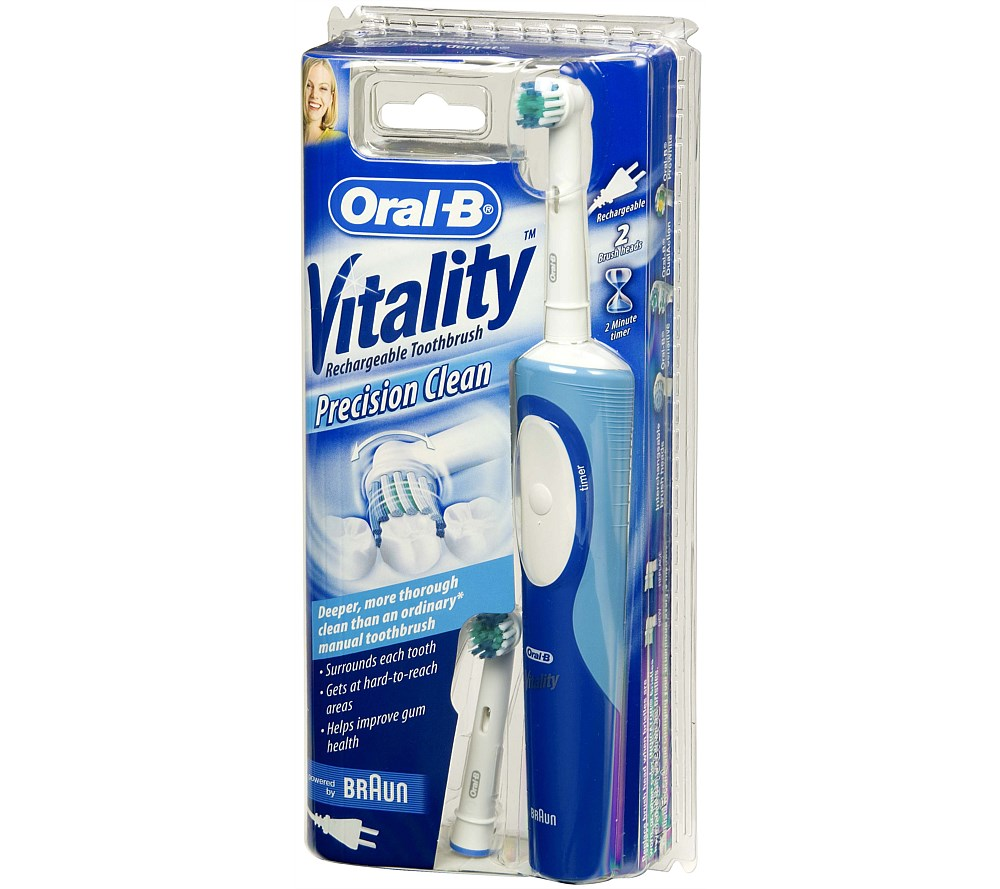 Oral-B Vitality Precision Clean Electric Toothbrush | All