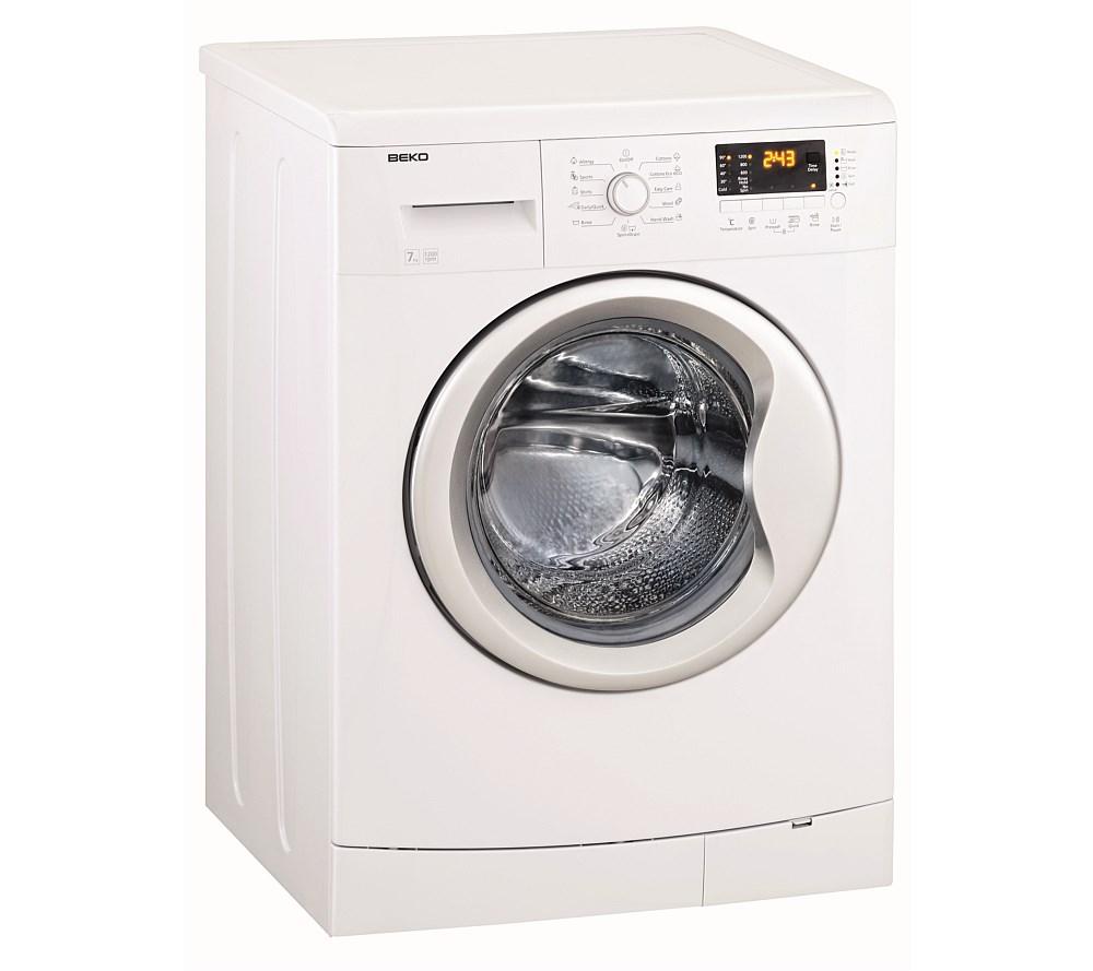 beko 7kg front load washing machine front load washers. Black Bedroom Furniture Sets. Home Design Ideas