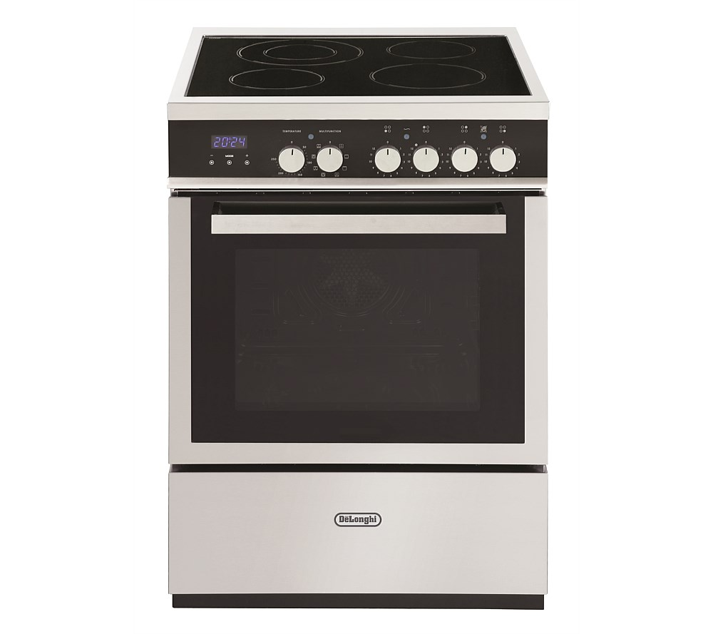 Delonghi Freestanding Oven With Electric Cooktop
