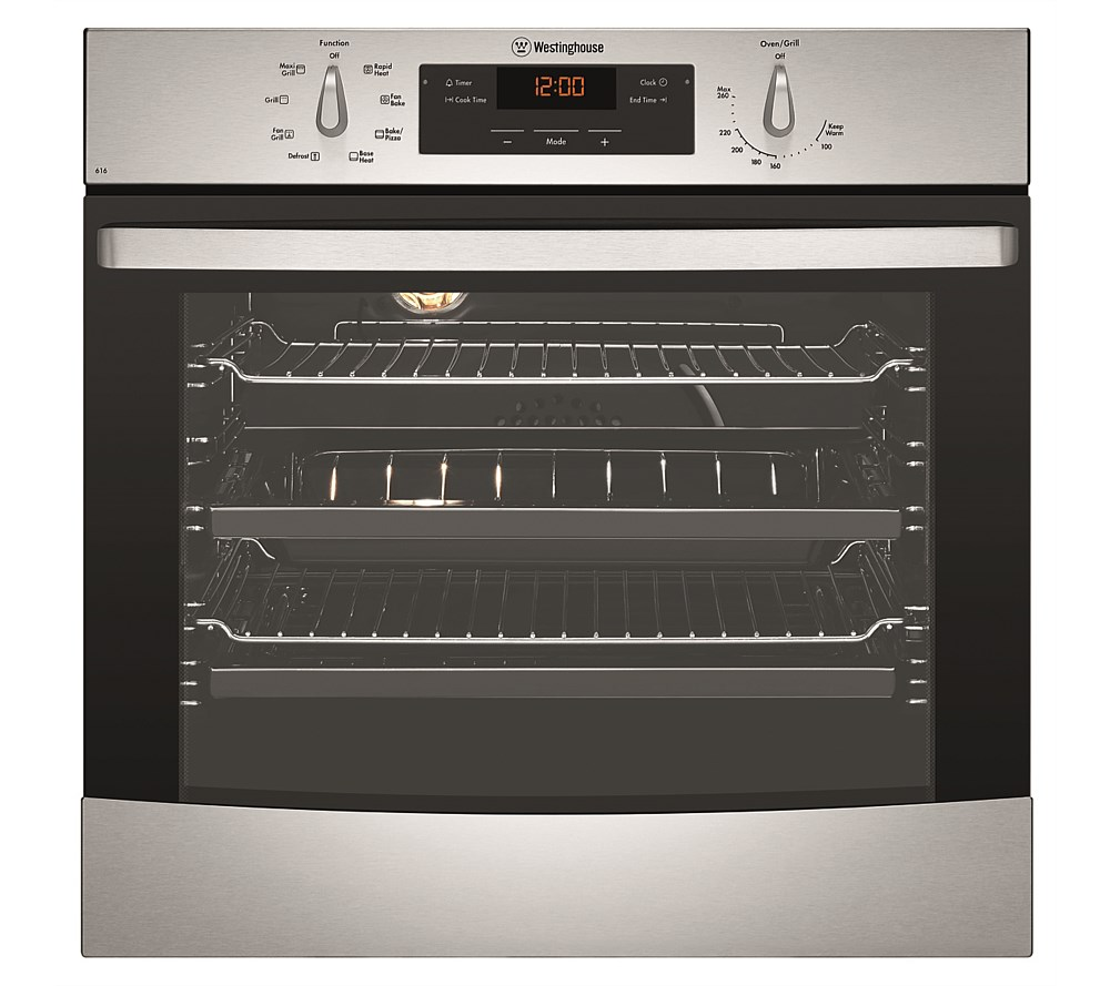 Westinghouse Built In Multifunction Single Oven Built In