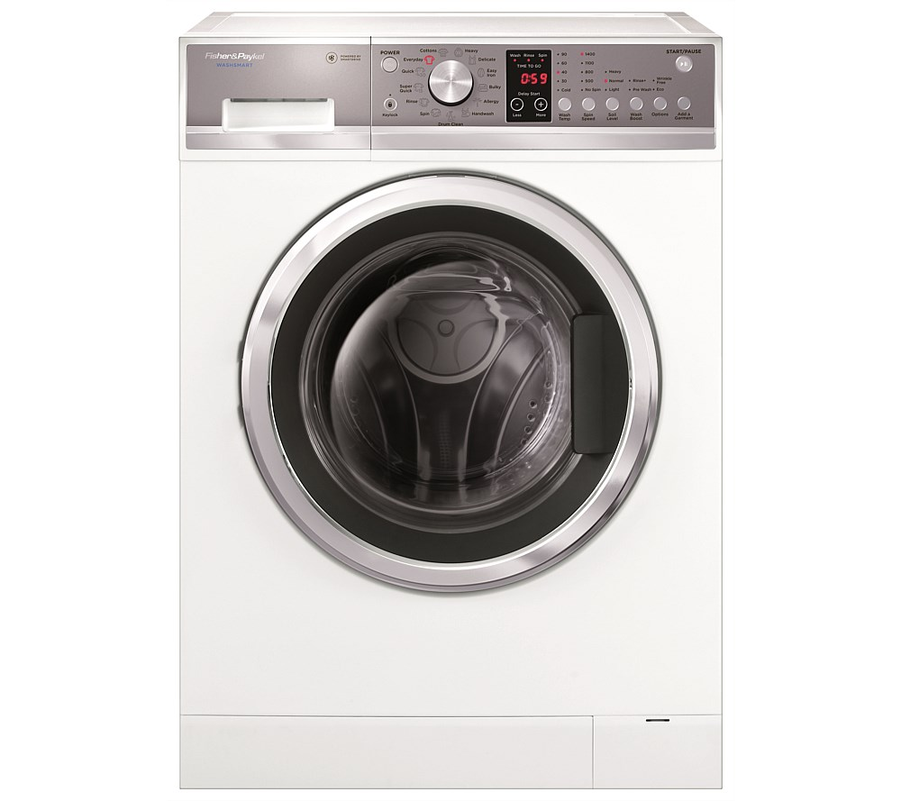 fisher and paykel washsmart manual front loader