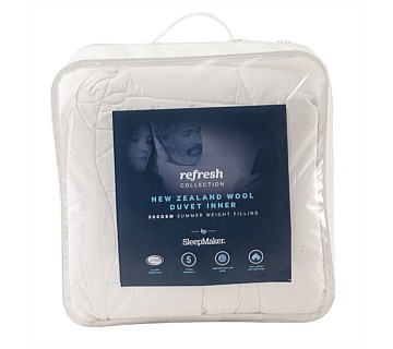 SleepMaker Refresh Wool Duvet Inner Single