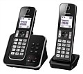 Panasonic Cordless Phone Twin Pack Black
