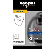 Vac-Pac PC87 Microply Vacuum Cleaner Bags