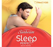 Sunbeam Sleep Perfect Fitted King Single Electric Blanket