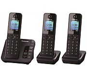 Panasonic Cordless Phone with Answerphone Triple Pack