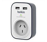 Belkin SurgePlus 1 Outlet USB Surge Protector