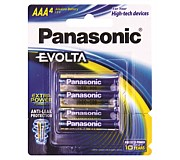 Panasonic Evolta AAA Batteries 4 Pack