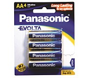 Panasonic Evolta AA Batteries 4 Pack
