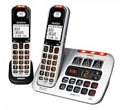 Uniden Sight and Sound Cordless Phone Twin Pack