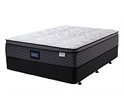 SleepMaker Melody Bed California King Split Base Medium