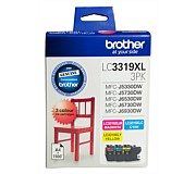 Brother Ink Cartridge Colour 3 Pack