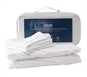 SleepMaker Mattress and Pillow Protector Set Double