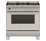 Fisher & Paykel Dual Fuel Freestanding Oven