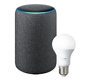 Amazon Echo Plus (2nd Gen) with Philips Hue Bulb (E27)