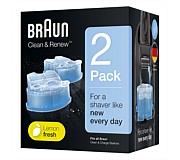 Braun Clean & Charge Refills 2 pack