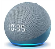 Amazon Echo Dot (4th Gen) Smart Speaker with Clock